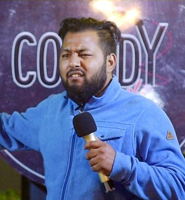Nepali Comedian Sajan Shrestha