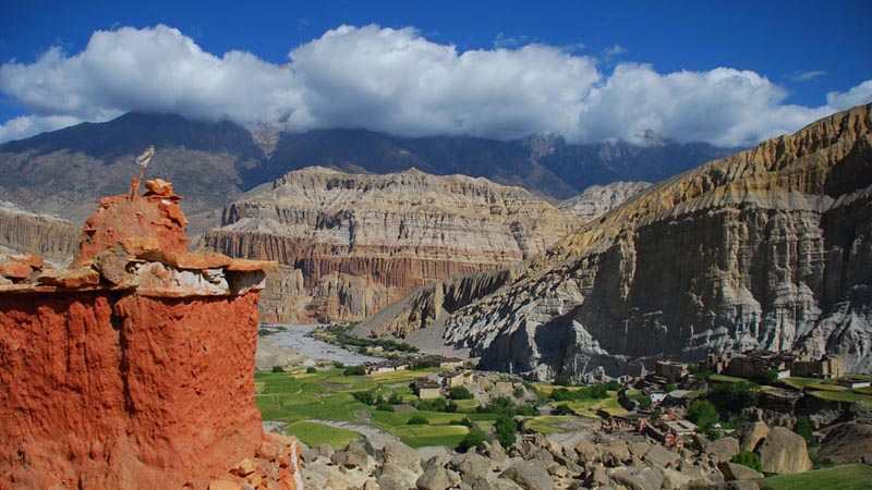 Mustang Tourist Attractions in Nepal