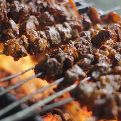 popular food in nepal sekuwa
