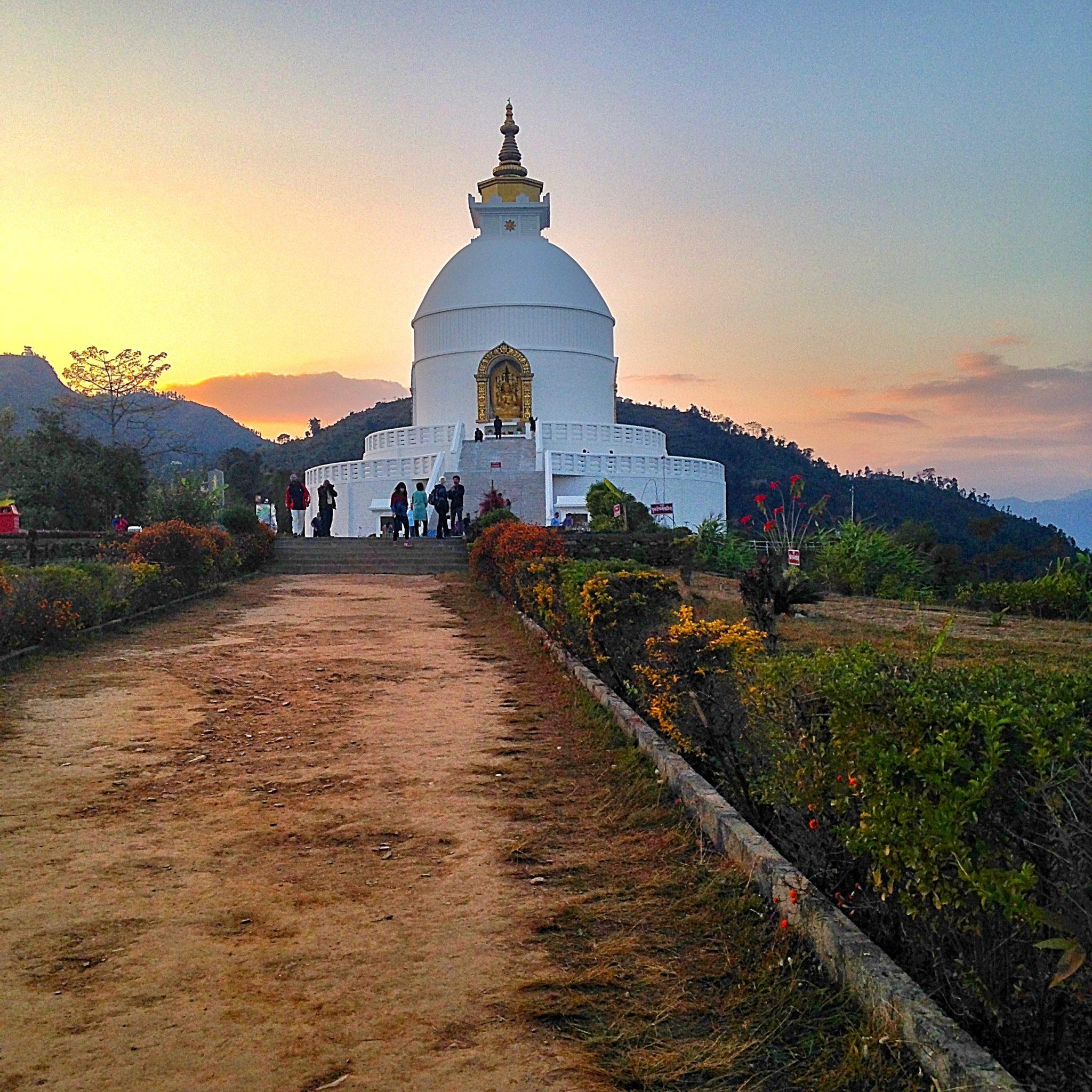 World Peace Pagoda Pokhara