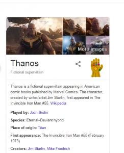 Google Thanos