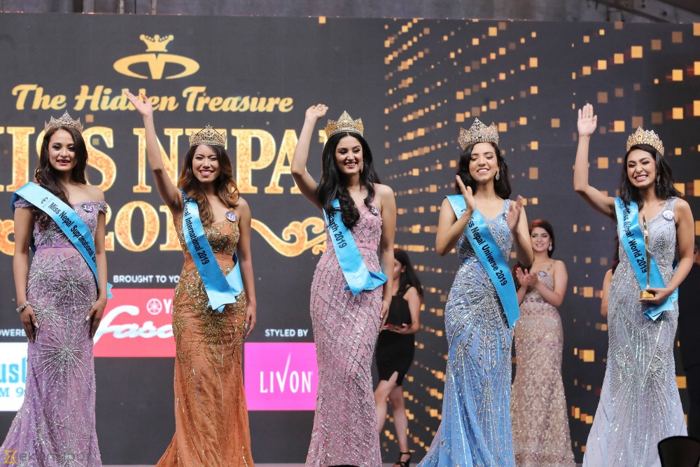Miss Nepal 2019 Anuska Shrestha